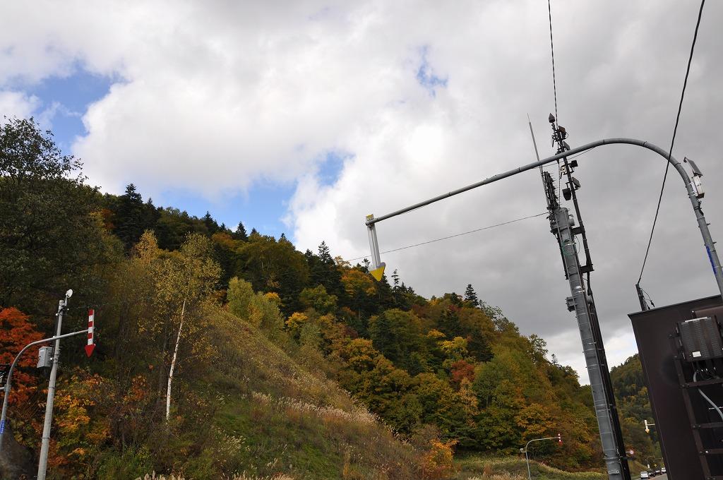 行きの定山渓と中山峠の中間その1
