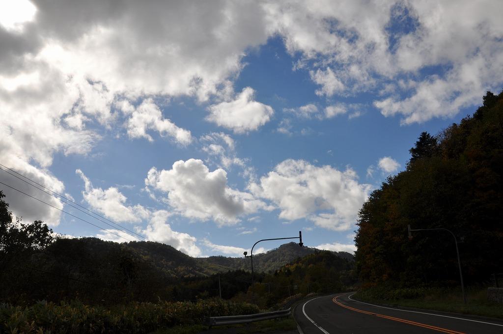 行きの定山渓と中山峠の中間その2