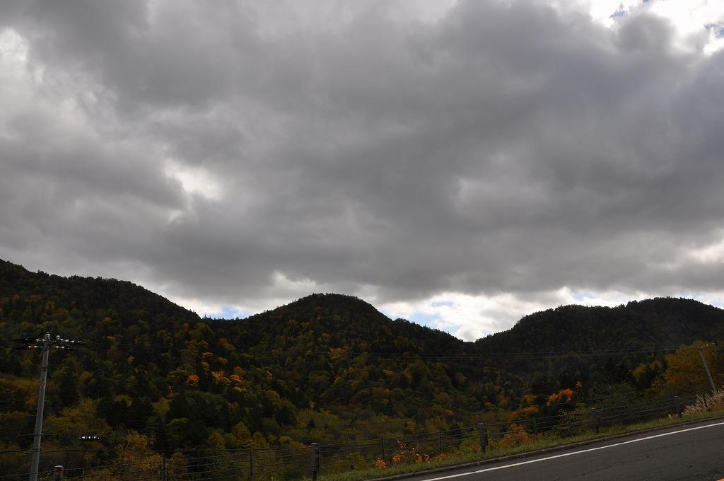 帰りの定山渓と中山峠の中間その2