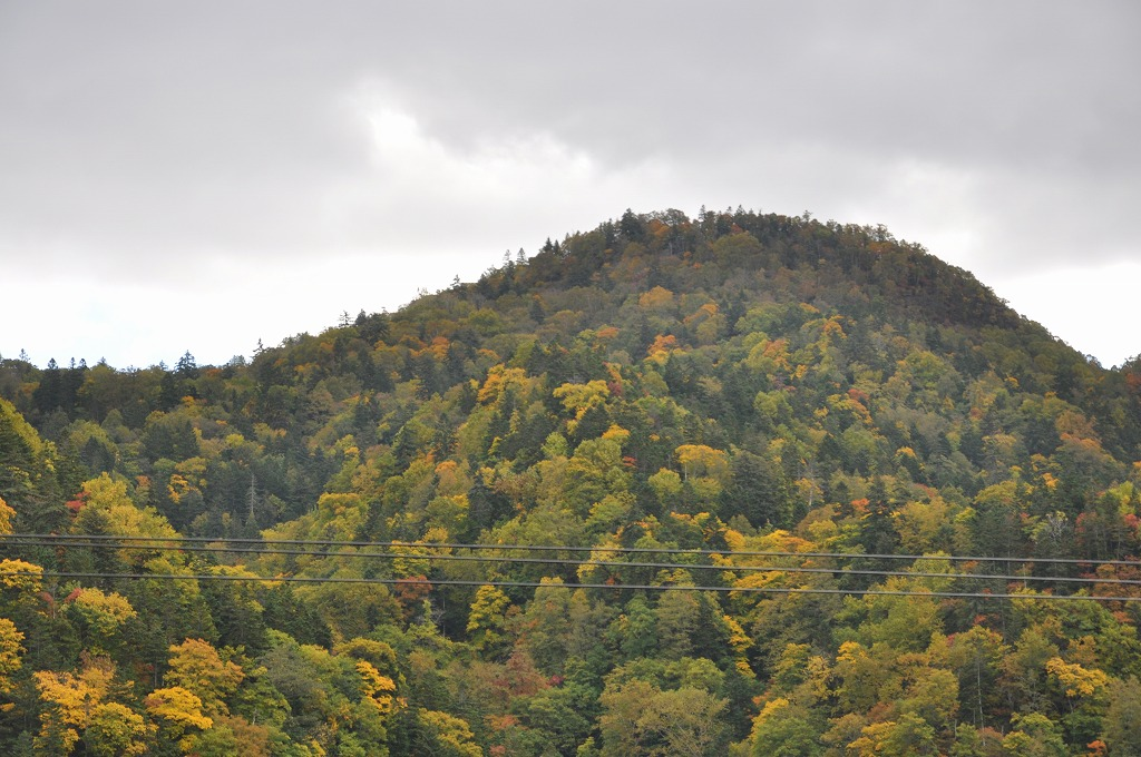 帰りの定山渓と中山峠の中間その3