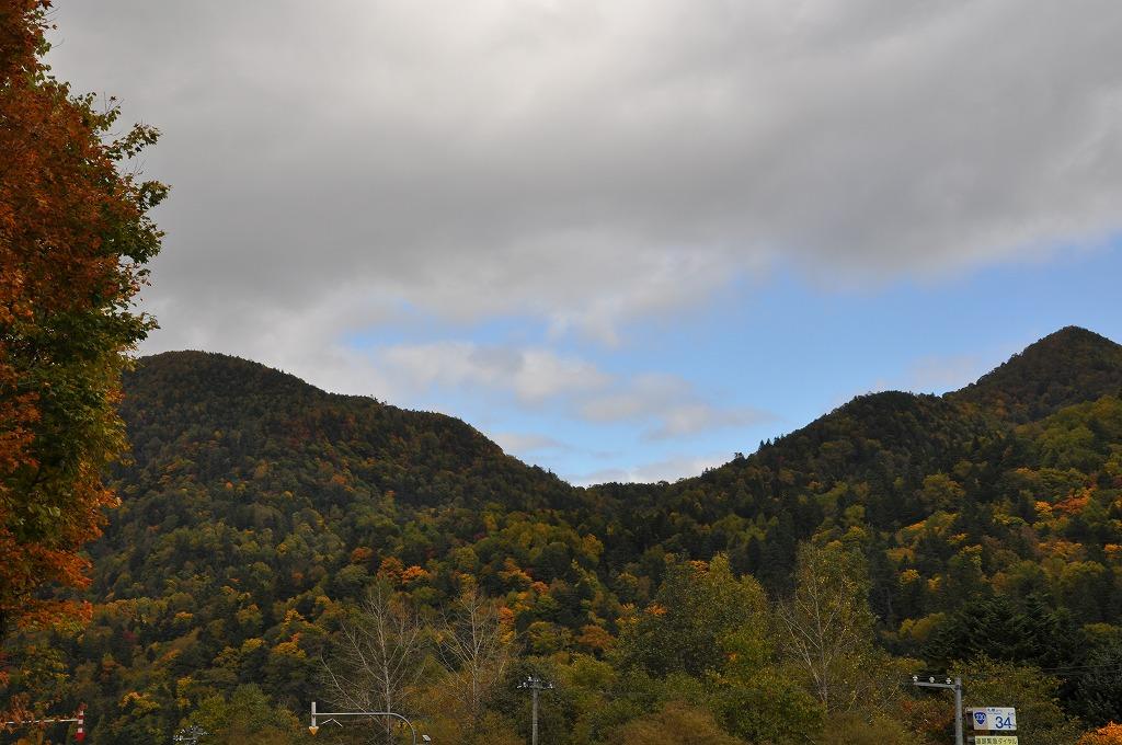 帰りの定山渓と中山峠の中間その5
