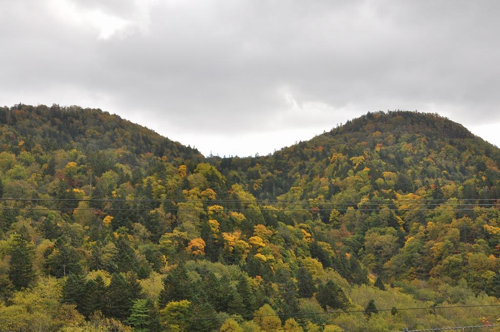帰りの定山渓と中山峠の中間その4